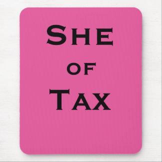 Tapis De Souris Elle du spécialiste en déclaration d'impôt féminin