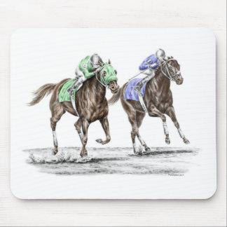 Tapis De Souris Emballage de chevaux de pur sang