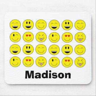 Tapis De Souris Emojis personnalisé Mousepad