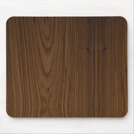 tapis de souris en bois de grain de noix zazzle. Black Bedroom Furniture Sets. Home Design Ideas
