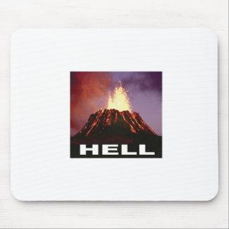 Tapis De Souris enfer de volcan