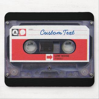 Tapis De Souris enregistreur à cassettes 80s personnalisé par