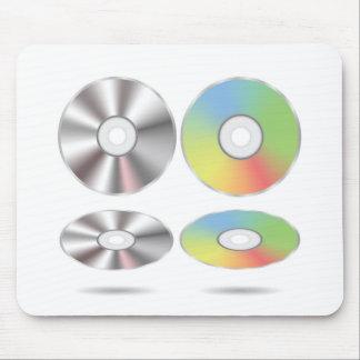 Tapis De Souris ensemble de disques