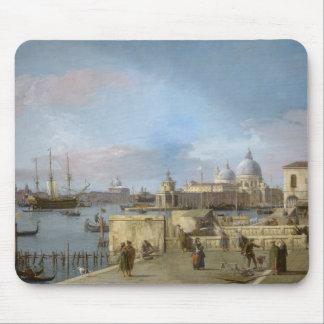 Tapis De Souris Entrée au canal grand du Molo, Venise