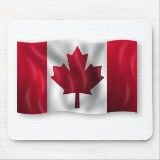 Tapis De Souris Érable canadien de feuille d'emblème de pays de