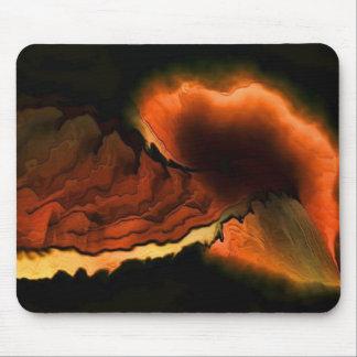 Tapis De Souris Éruption volcanique