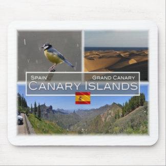 Tapis De Souris Es Espagne - Espana - mamie Canaria - îles