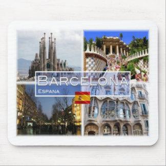 Tapis De Souris Es Espana - l'Espagne - Barcelone - Sagrada