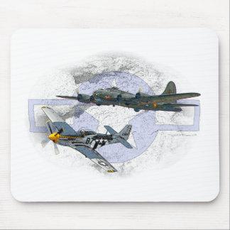 Tapis De Souris Escorte de vol du mustang P-51