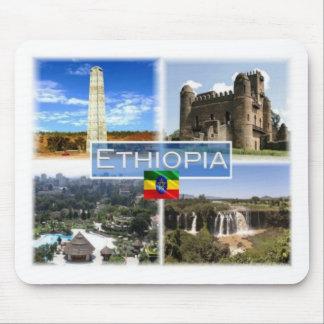 Tapis De Souris ET l'Ethiopie - l'obélisque d'Aksum - château de