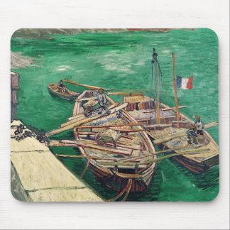 Tapis De Souris Étape d'atterrissage de Vincent van Gogh | avec