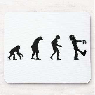 Tapis De Souris évoluez le zombi