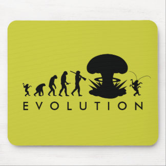 Tapis De Souris Évolution de diagramme drôle d'évolution de