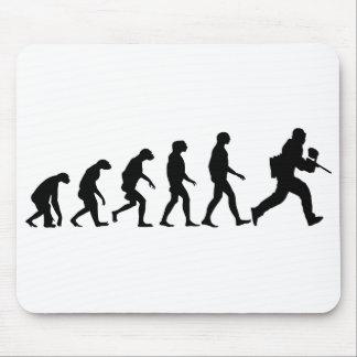 Tapis De Souris Évolution de Paintball