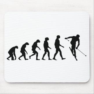 Tapis De Souris Évolution de ski