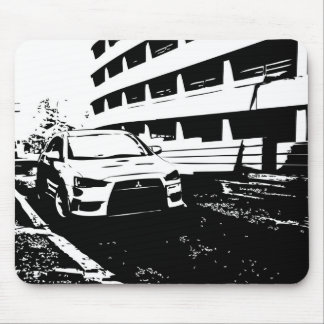 Tapis De Souris Évolution X de Mitsubishi Lancer - amour d'I mon