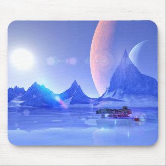 Tapis De Souris Explorer un art de la science fiction de planète