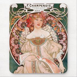 Tapis De Souris F. Champenois Imprimeur Editeur
