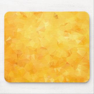 Tapis De Souris Facette d'or jaune de béryl