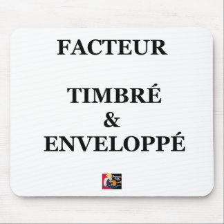 Tapis De Souris FACTEUR TIMBRÉ et ENVELOPPÉ - Jeux de Mots