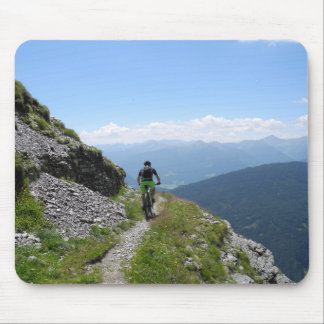 Tapis De Souris Faire du vélo de montagne