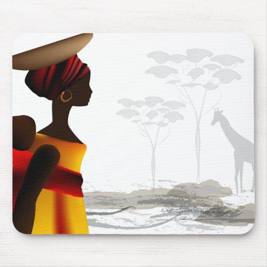 Tapis De Souris femme africaine