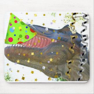 Tapis De Souris Fêtard de T-Rex de dinosaure