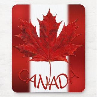 Tapis De Souris Feuille d'érable de Mousepad Canada de drapeau du