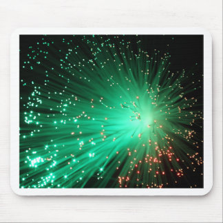 Tapis De Souris Fibres optiques lumineuses