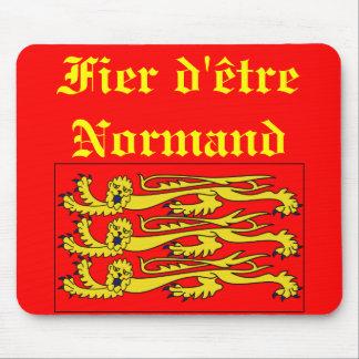 Tapis De Souris Fier d'être Normand