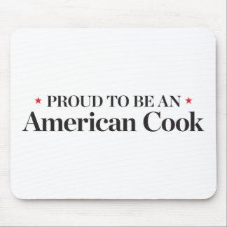Tapis De Souris Fier d'être un cuisinier américain