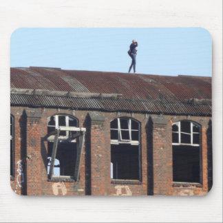 Tapis De Souris Fille sur le toit 02.2.3, endroits perdus