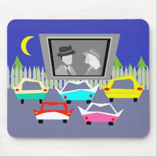 Tapis De Souris Film drive-in Mousepad de petite ville