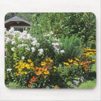 Tapis De Souris Fin août jardin de cottage