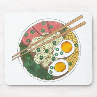Tapis De Souris Fin gourmet japonais de restaurant de nourriture