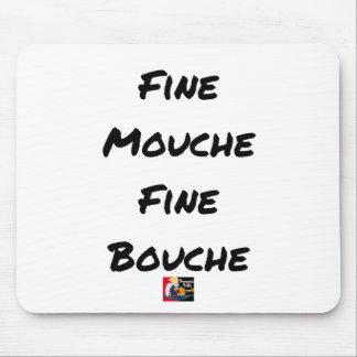 Tapis De Souris FINE MOUCHE, FINE BOUCHE - Jeux de mots