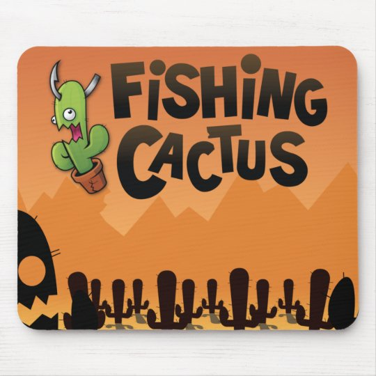 Tapis De Souris Fishing Cactus Official Mousepad