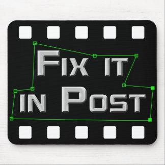 Tapis De Souris Fixez-le dans le courrier VFX Mousepad
