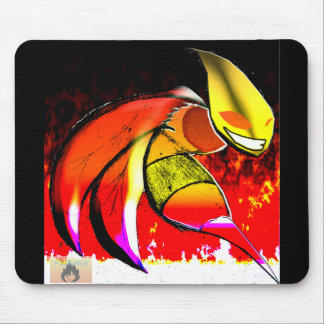 Tapis De Souris Flamed Up Killa Bee by FLAME FOREELAH