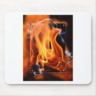 Tapis De Souris Flamme-foyer