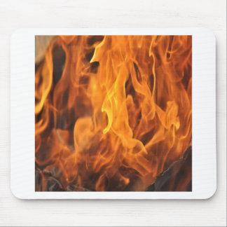 Tapis De Souris Flammes - trop chaudes à manipuler