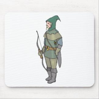 Tapis De Souris Flèche d'arc d'homme d'Archer d'imaginaire