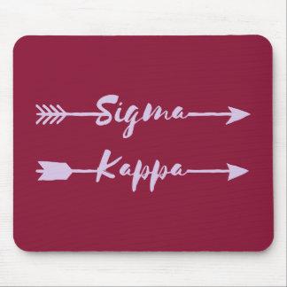Tapis De Souris Flèche de Kappa de sigma