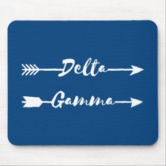 Tapis De Souris Flèche du gamma | de delta