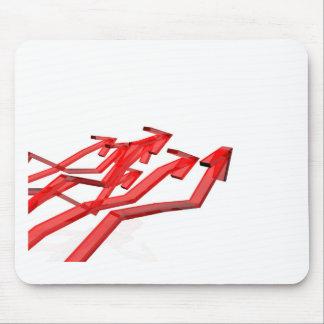 Tapis De Souris Flèches rouges