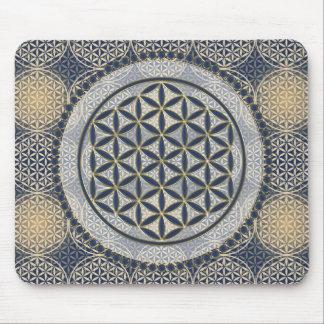 Tapis De Souris Fleur de DES Lebens - bouton IX de la vie/Blume