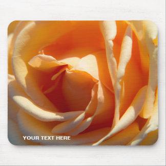 Tapis De Souris Fleur de rose jaune