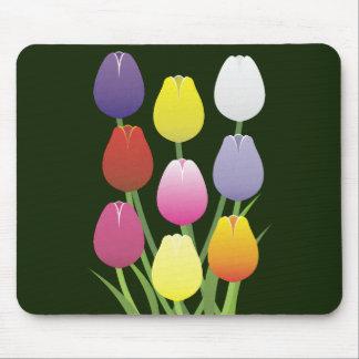 Tapis De Souris Fleur de tulipe