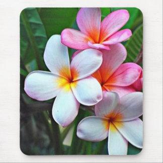 Tapis De Souris Fleur hawaïenne Mousepad