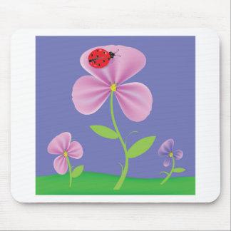 Tapis De Souris Fleur rose